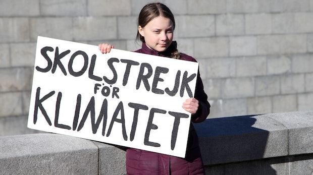 Agentur macht aus berühmtem Greta-Plakat eine kostenlose Schriftart