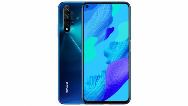 Huawei Nova 5T in Crush Blue. (Bild: Huawei)
