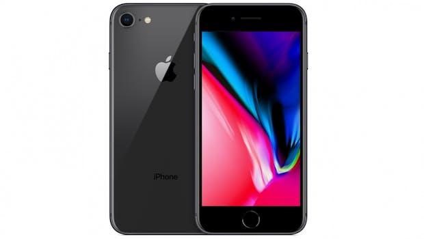 iPhone 8 in Grau. (Bild: Apple)