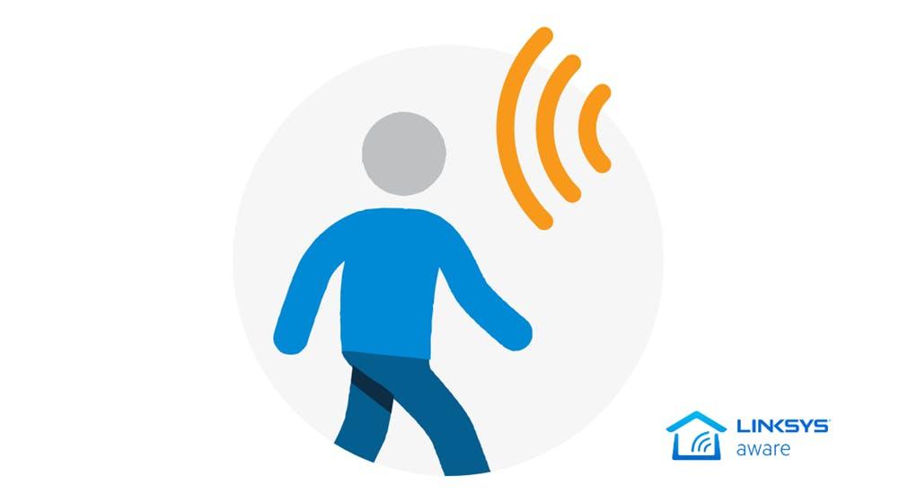 Mehr Sicherheit für Zuhause: Linksys WLAN-Router fungieren als Bewegungsmelder