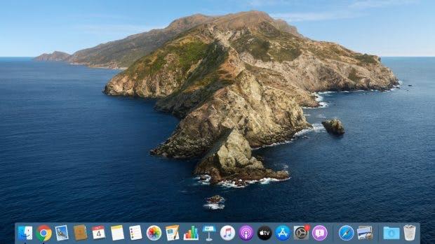 macOS Catalina. (Screenshot: macOS / t3n)