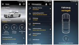 Europäische Nutzer der Mercedes-Me-App waren nicht betroffen. (Screenshot: Play-Store)