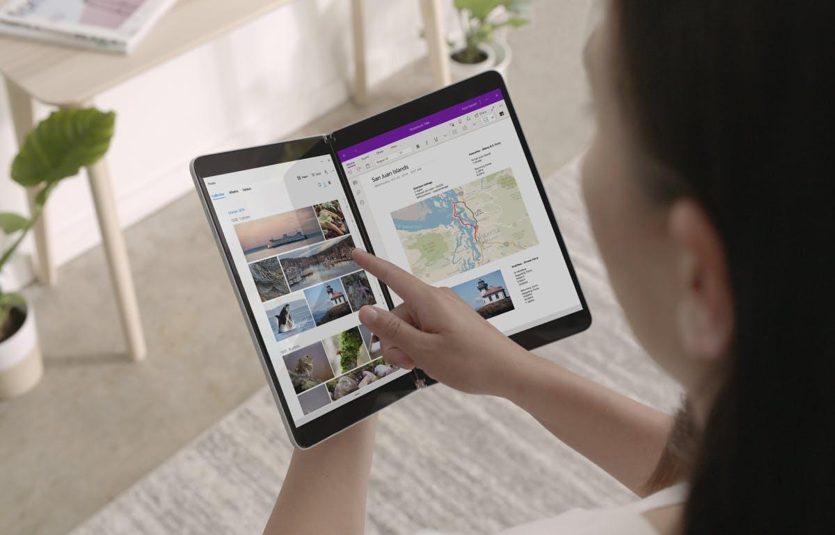 Surface Neo: Microsofts neues Klapp-Device kommt mit zwei 9-Zoll-Displays und Windows 10X