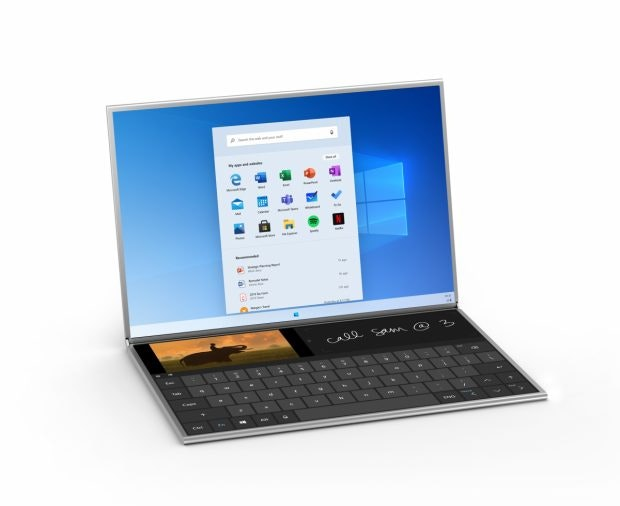 Microsoft Surface Neo. (Bild: Microsoft)Microsoft Surface Neo. (Bild: Microsoft)