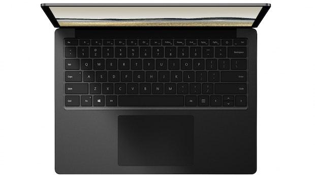 Microsoft Surface Laptop ohne Alcantara. (Bild: Microsoft)