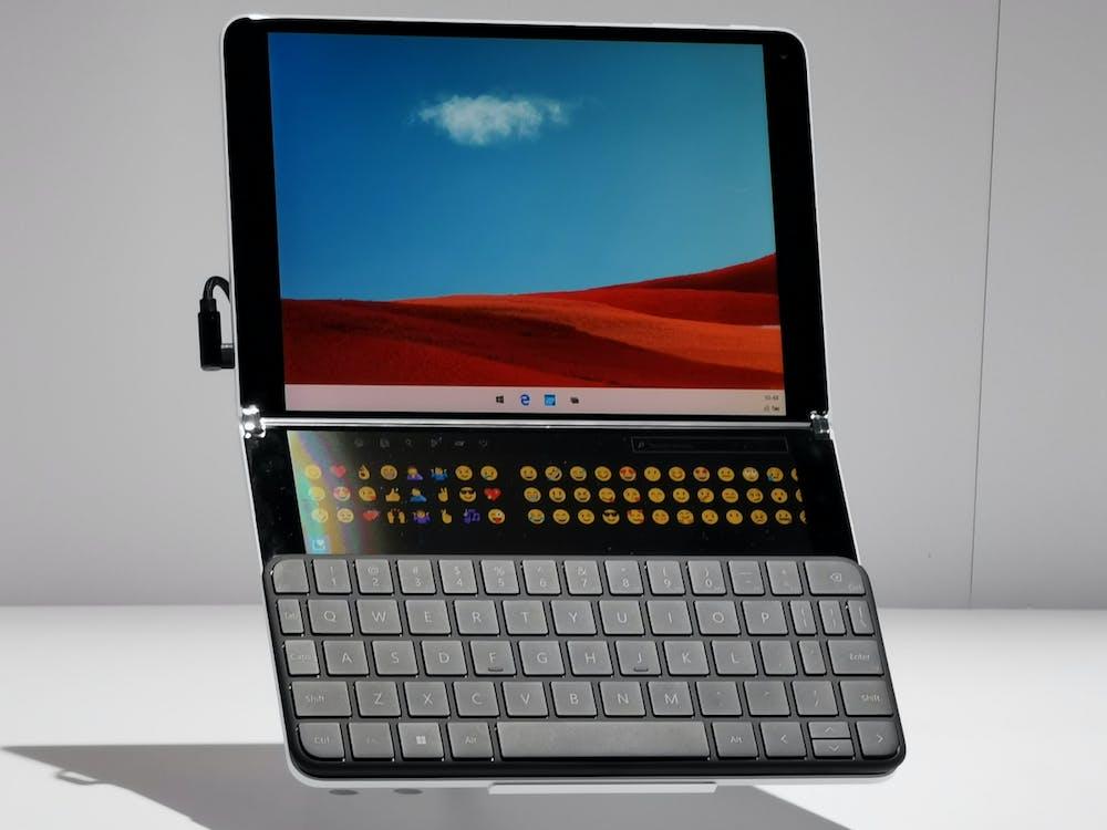 Microsoft Surface Neo. (Foto: t3n)