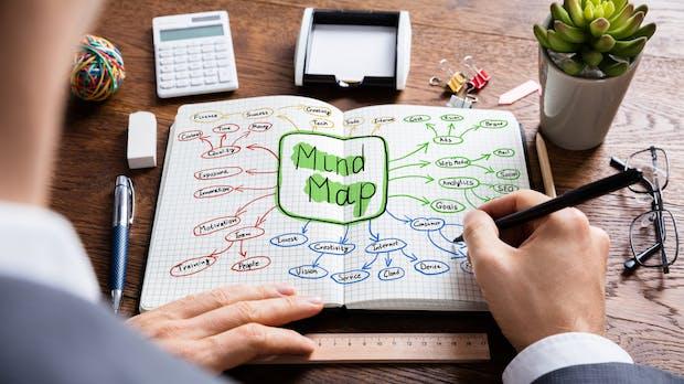 Die 10 besten Mind-Mapping-Tools im Web