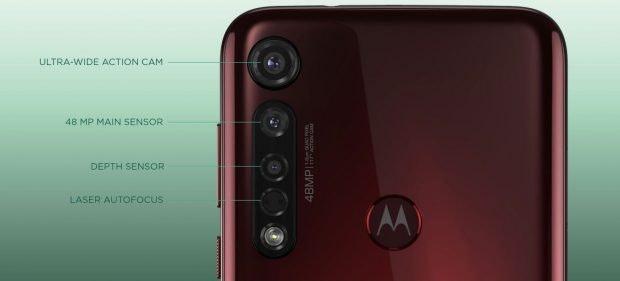 Motorolas Moto G8 Plus kommt mit 48 MP-Kamera. (Bild: Motorola)