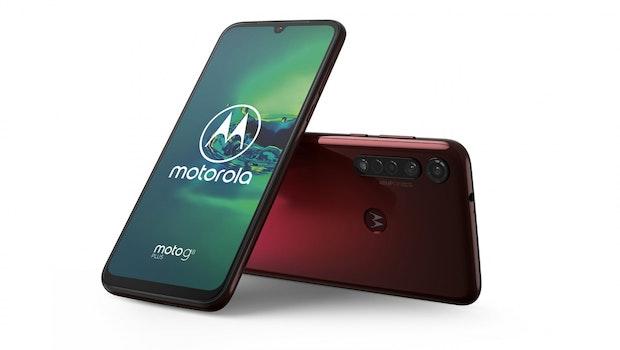 Motorola Moto G8 Plus. (Bild: Motorola)