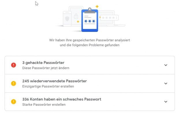 Passwort gehackt, zu oft verwendet oder zu schwach? (Screenshot: t3n.de)