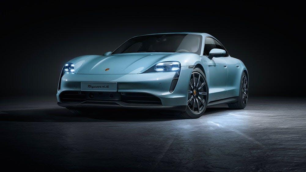 Das ist der elektrische Porsche Taycan 4S