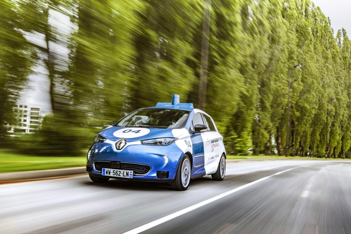 Renault testet Fahrdienst mit selbstfahrenden E-Autos