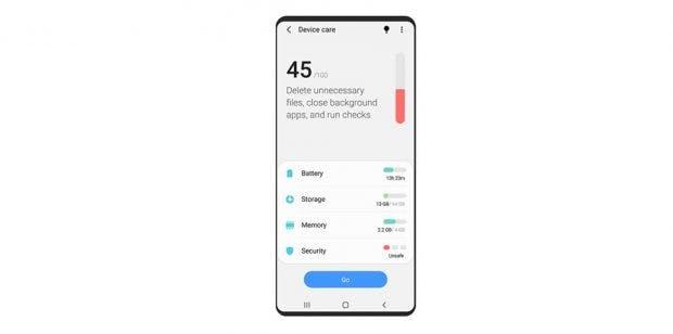 Samsung One UI 2 auf Android 10 mit mehr System-Kontrolle. (Bild. Samsung)