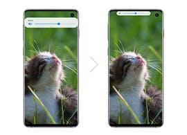 Samsung One UI 2: Pop-up-Fenster werden kleiner. (Bild: Samsung)