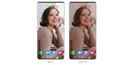 Android 10 Update für Samsung-Smartphone: One UI 2 Beta bringt intelligenten Darmode. (Bild: Samsung)