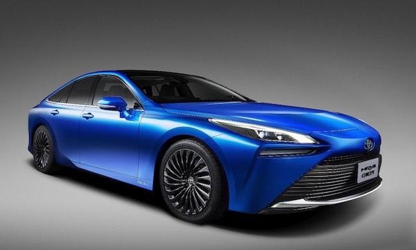 Toyotas Brennstoff-Auto Mirai 2 soll bis zu 700 Kilometer Reichweite haben