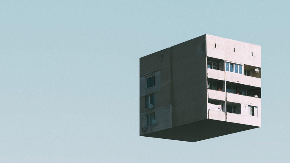 Urban Tetris: Sofia im freien Fall