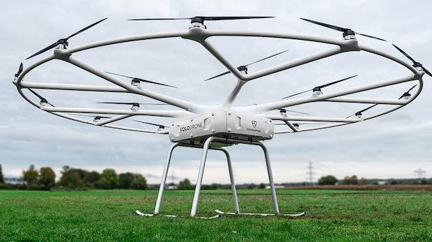 Volocopter stellt Lastendrohne mit 200 Kilogramm Tragkraft vor