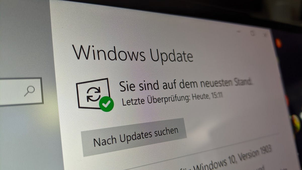 Windows-10-November-Update wie ein Patch installierbar