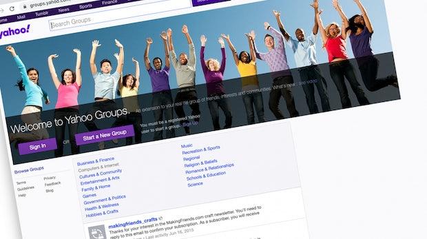 Nach 18 Jahren: Yahoo Groups steht vor dem Aus