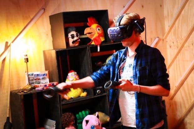 VR bei Loot für die Welt