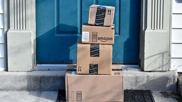 Amazon: Für diese rollende Paketstation hat sich der Onlinehändler ein Patent gesichert