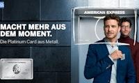 Always prepared! Mit der Platinum-Card vom American Express