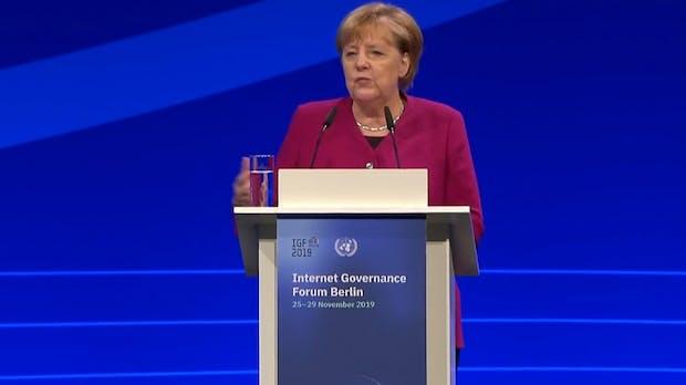 Plädoyer für das freie Internet: Merkel warnt vor Abschottungspolitik