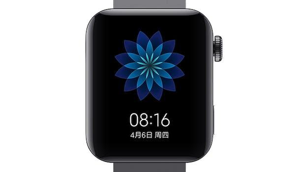 Die Mi Watch von Xiaomi. (Bild: Xiaomi)