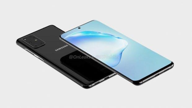 Samsung Galaxy S11 Renderbild. (Bild: Onelaks; 91 Mobiles)