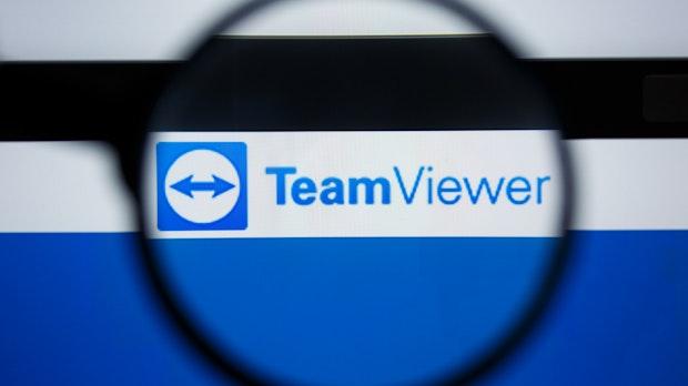 Teamviewer-Aktie erreicht Redkordhoch