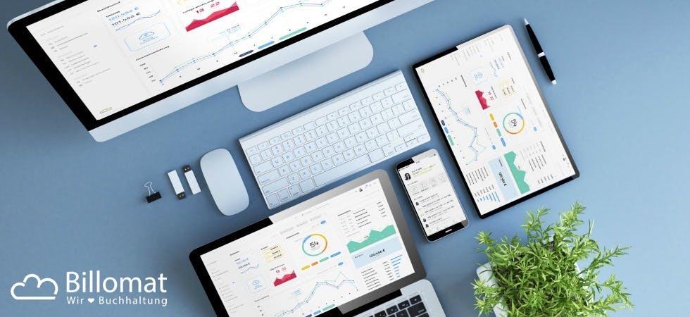 Digitalisiere deine Buchhaltung mit Billomat. (Foto: Billomat)