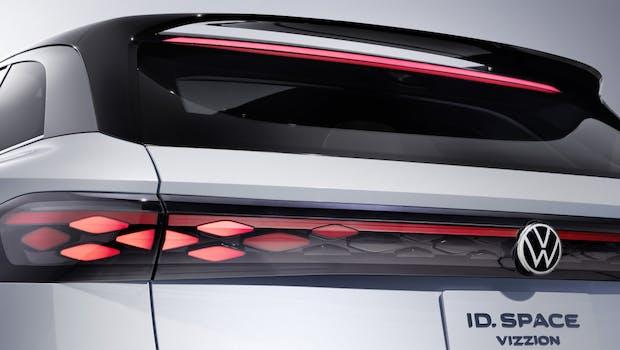 VW ID Space Vizzion. (Bild: Volkswagen AG)