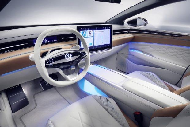 VW ID Space Vizzion Cockpit