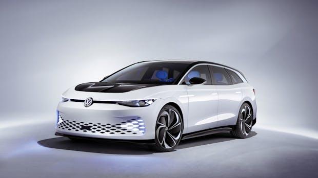 Neuer Elektro-Studie von VW: ID Space Vizzion soll 600 Kilometer weit kommen