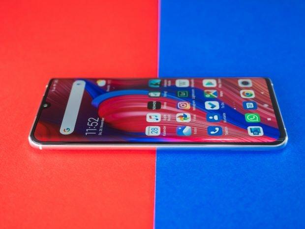 Xiaomi Mi Note im Test Display