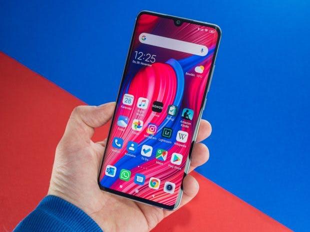 Xiaomi Mi Note 10 im Test von vorne