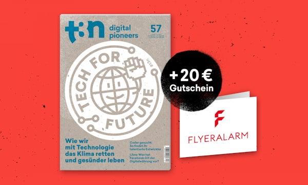 Lesestoff für kalte Tage: t3n Abo sichern und FLYERALARM-Gutschein abgreifen