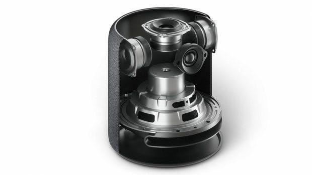 Ein Blick auf die Speaker des Amazon Echo Studio. (Bild: Amazon)