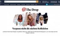 Amazon legt bei Fashion nach: The Drop und Stylesnap starten in Deutschland
