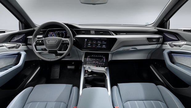Audi E-Tron Sportback Innenraum. (Foto: Audi)