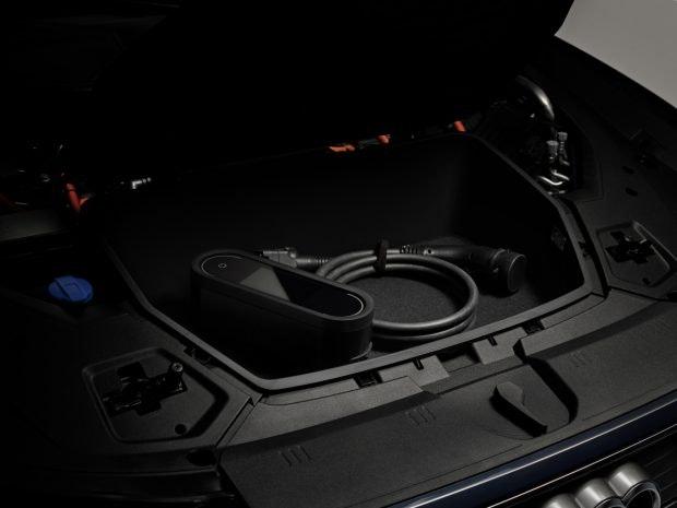 Der Frunk des Audi E-TRon Sportback. (Foto: Audi)