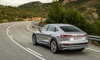 E-Tron Sportback: Audi kündigt schnittiges vollelektrisches SUV-Coupé an