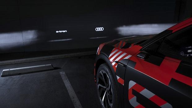 Audi E-Tron Sportback Licht. (Foto: Audi)