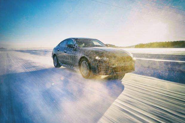 BMW i4. (Bild: BMW)