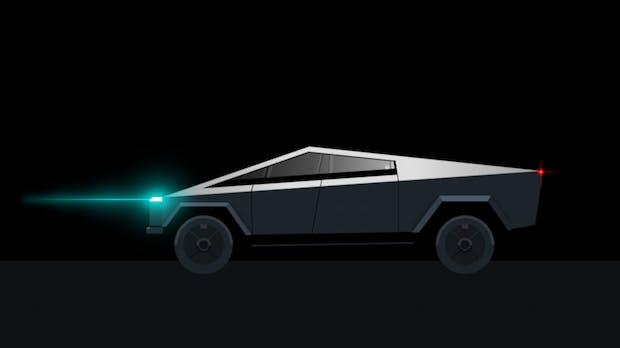 Entwicklerin baut Teslas Cybertruck in CSS