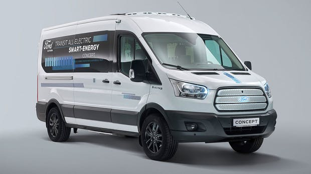 Ford verschiebt Elektro-Transit auf 2023