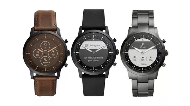 Fossil stellt neue Hybrid-Smartwatches mit 2 Wochen Laufzeit und E-Ink-Display vor