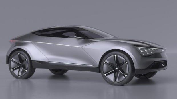 Kia stellt Futuron Concept-Car für autonomes Fahren vor