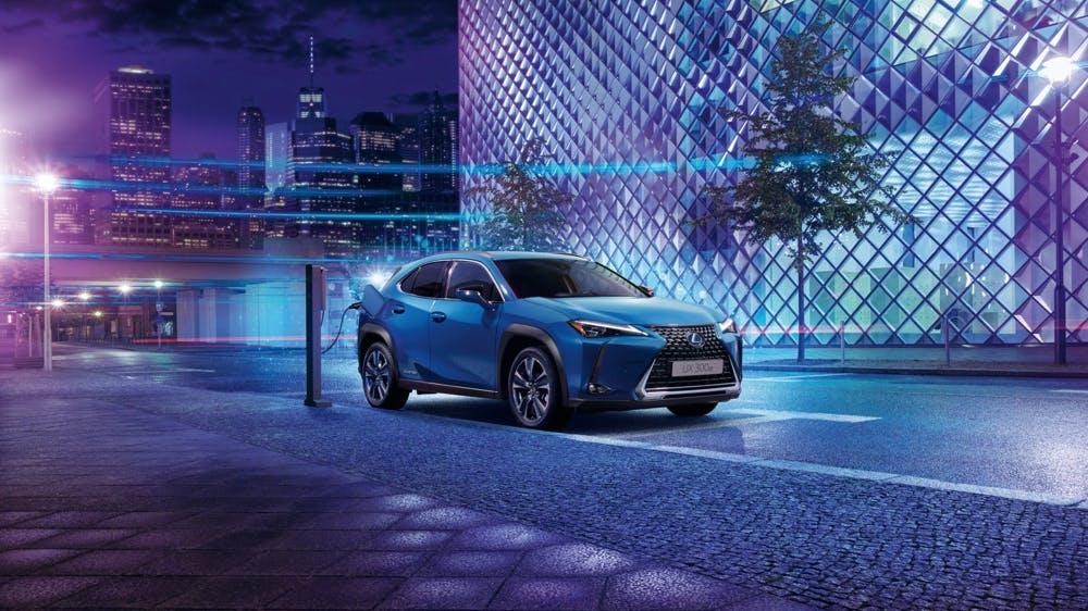 UX 300e: Lexus erstes reines E-Auto ist ein batteriebetriebener SUV